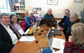 Computer Friendly helping at Harpenden Seniors Day